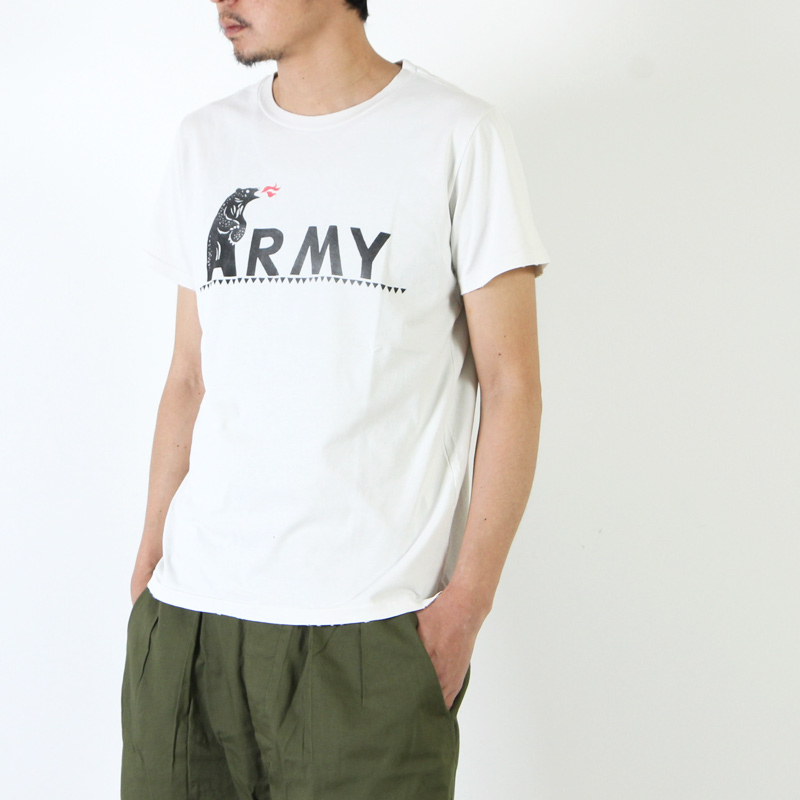REMI RELIEF(レミレリーフ) スペシャル加工Tee 『ARMY』