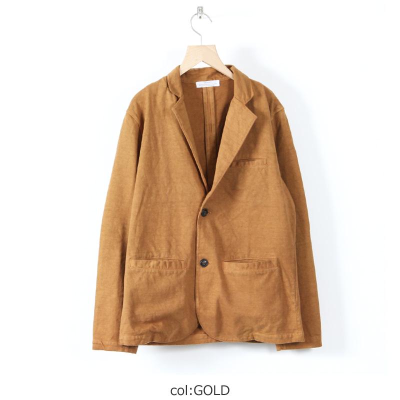 SBTRACT(サブトラクト) Fleece Machine Hard Jacket #Gold