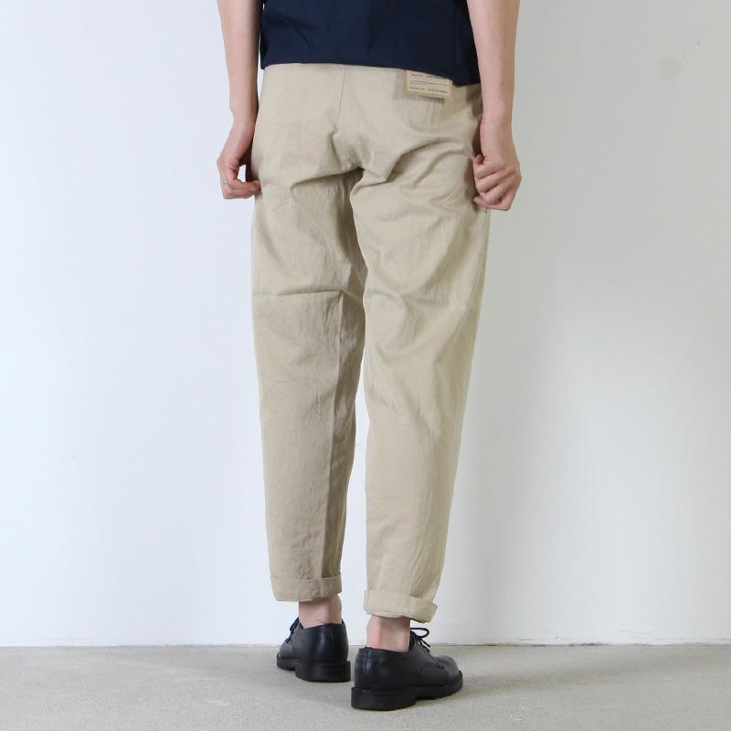 YAECA(ヤエカ) CHINO CLOTH PANTS WIDE TAPERED