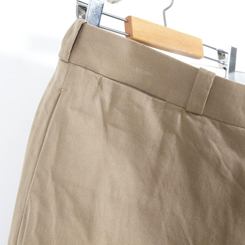 YAECA(ヤエカ) WIDE TAPERED CHINO CLOTH PANTS