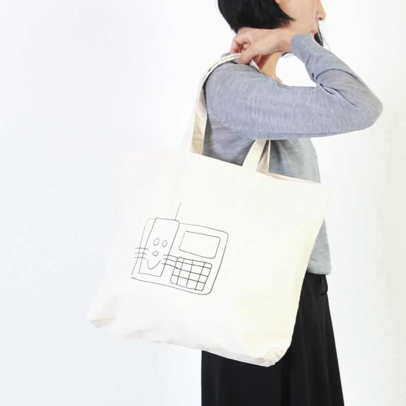 YAECA(ヤエカ) PRINT BAG FAX