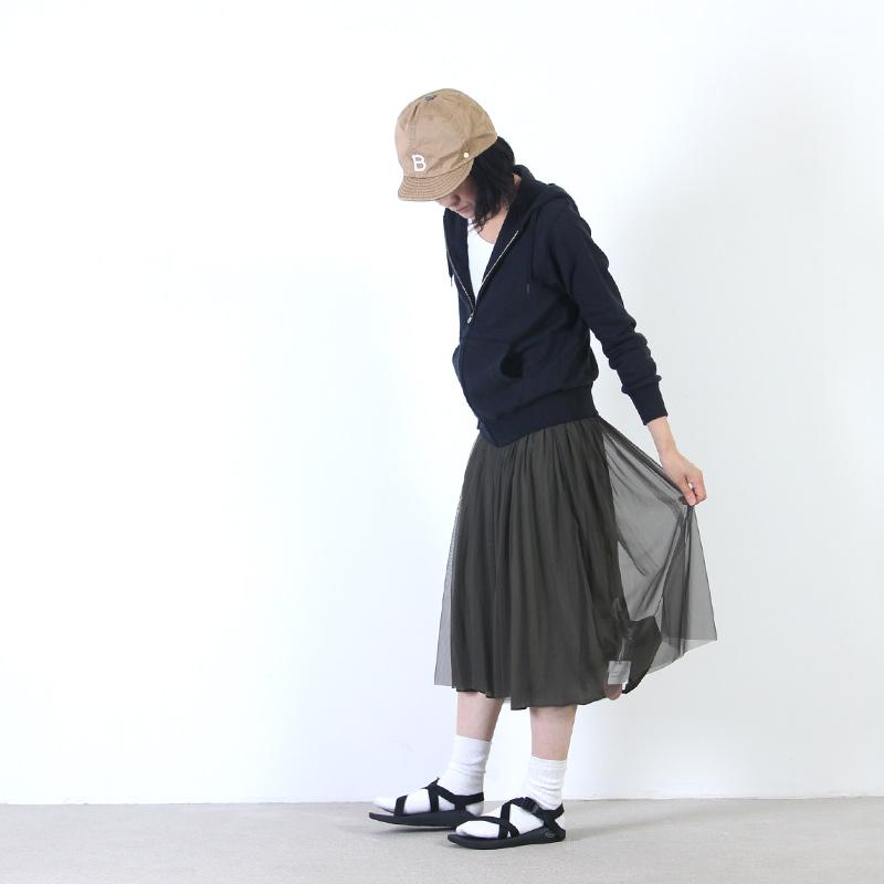 yangany(ヤンガニー) リバーシブルチュールスカート